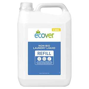Ecover Non Bio Laundry Liquid Refill, 5 L £15.99 (Prime) + £4.49 (non Prime) at Amazon