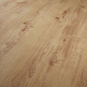 Navelli Light Oak 12mm Laminate Flooring - 1.48m2 Pack - £13.32 (£9 Per SQM) - Free Click & Collect / Free Delivery on £75+ Spend @ Wickes