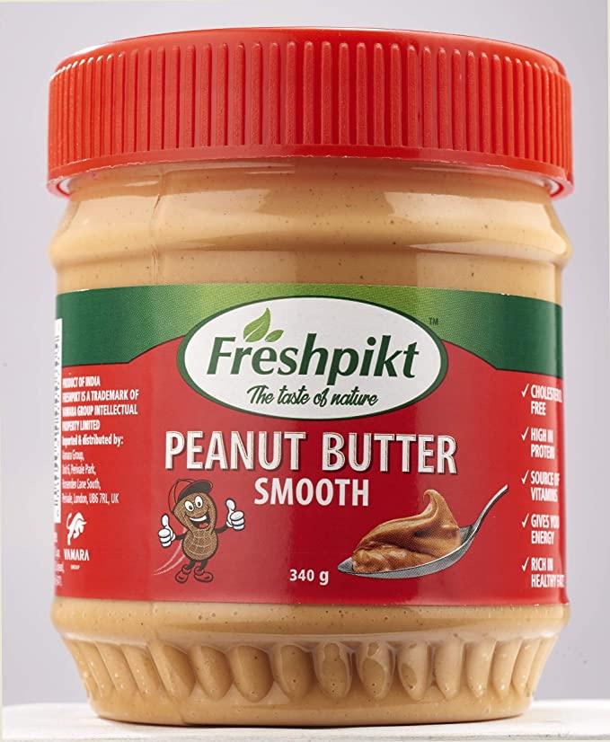 FREE Freshpikt Peanut Butter Smooth 340g @ Budgens (Colnbrook) (BBE - April 2020)