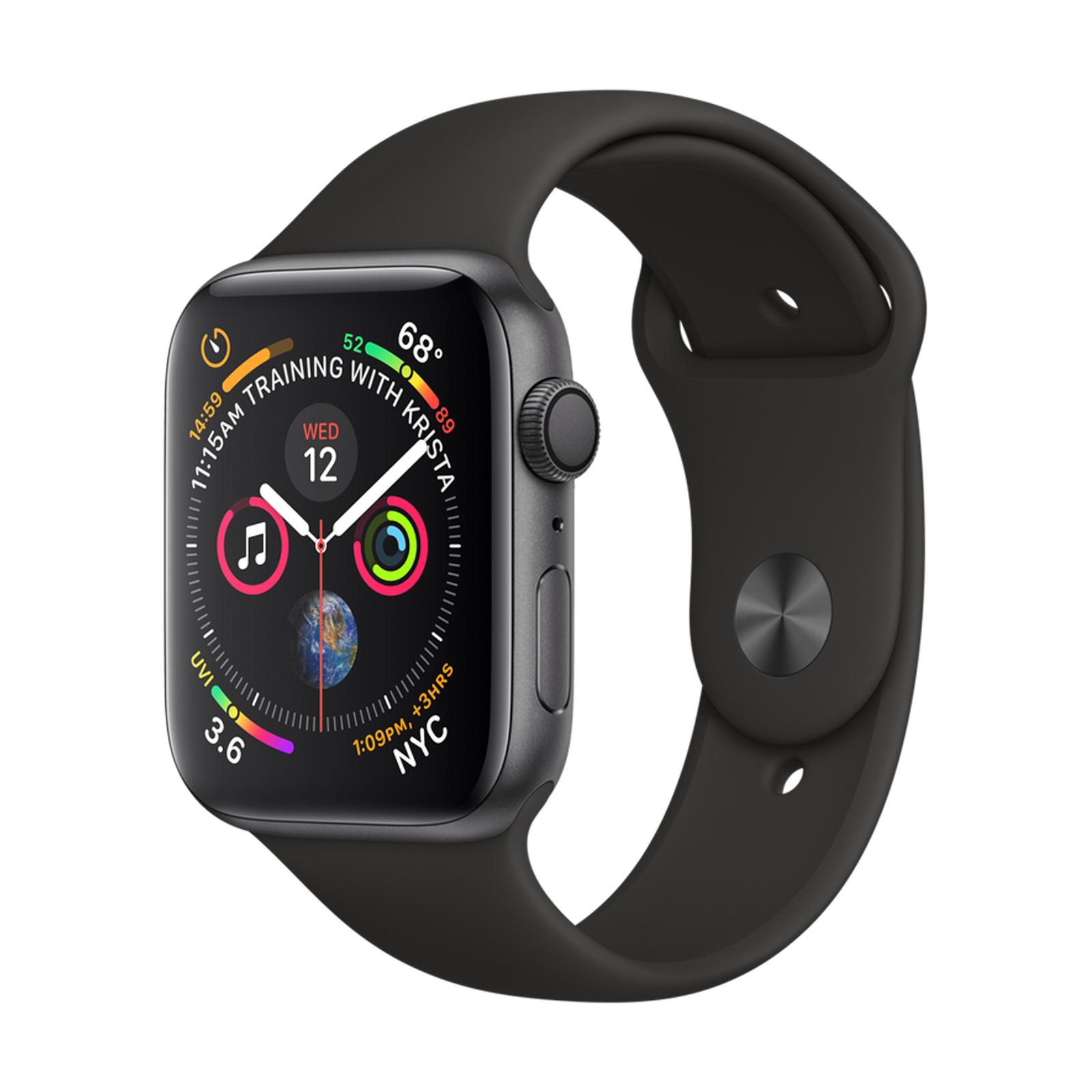 Apple Watch Series 4 44mm Space Grey GPS / Wifi (Refurb - Good) £215.10 Delivered using code @ eBay / loop_mobile