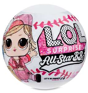 L.O.L. Surprise All-Star B.B.s Sports Series 1 Baseball Sparkly £11.99 @ Smyths toys