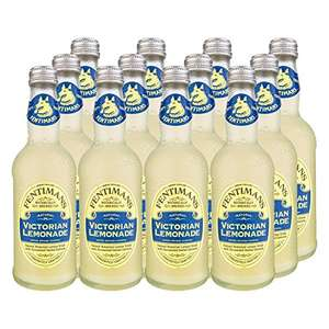 Fentimans Traditional Victorian Lemonade/Rose Lemonade 275 ml (Pack of 12) £12 Prime / £16.49 non prime @ Amazon