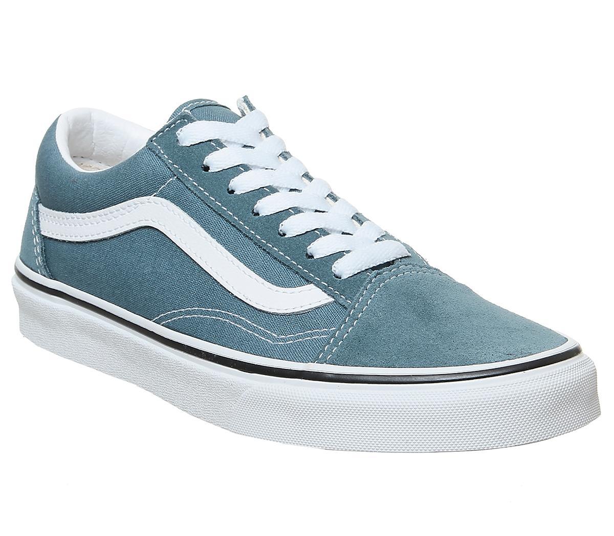 Men's Vans Old Skool Blue Mirage True White £35 @ Office Shoes