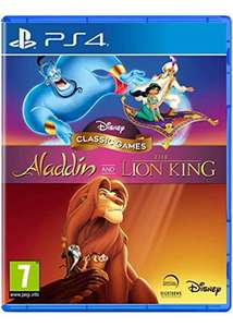 Disney Classic Games: Aladdin and The Lion King (PS4) - £16.85 Delivered @ Base