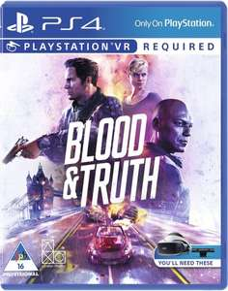 Blood and Truth PS4 (PSVR) - £12.85 delivered @ Base