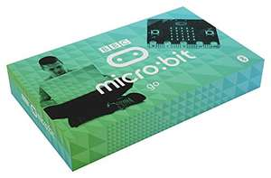 BBC micro:bit go kit, pocket-sized, programmable computer with cable and battery pack £18.13 + £4.49 NP @ Amazon