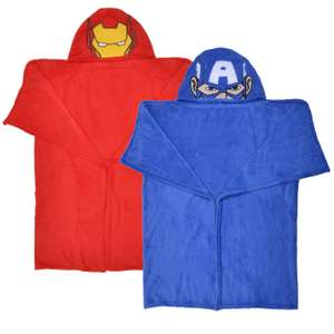 80 x 120cm Avengers Captain America Or Iron Man Kids' Cuddle Robe, £1 In Store @ OneBelow (Argyle Street, Glasgow)