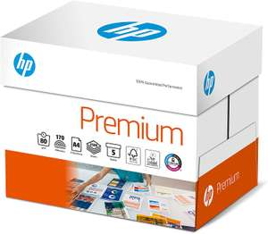 HP Premium A4 90gsm Printing Paper (Pack of 5 Reams) 2500 sheets £15.58 @ Costco