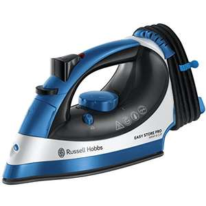 Russell Hobbs 23770 Easy Store Wrap & Clip Handheld Steam Iron with Vertical Steamer Function £16.25 (Prime) (+£4.49 Non-prime) at Amazon