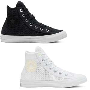 Womens Summer Getaway Chuck Taylor All Star High Top (Black or White) £19.99 with code / £25.49 delivered @ Converse