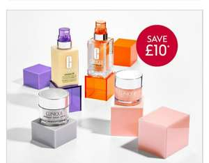 Clinique Moisturisers £20 off account specific for Advantage Card Holders @ Boots