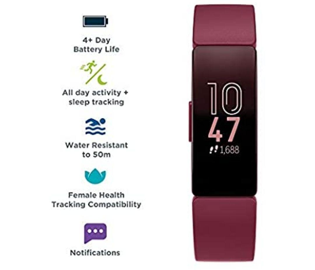 Fitbit Inspire Sangria £49.27 / Black £49.10 @ Amazon