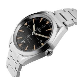 OMEGA Seamaster Railmaster Co-Axial Master Chronometer Automatic Men's Watch £2616 at Beaverbrooks