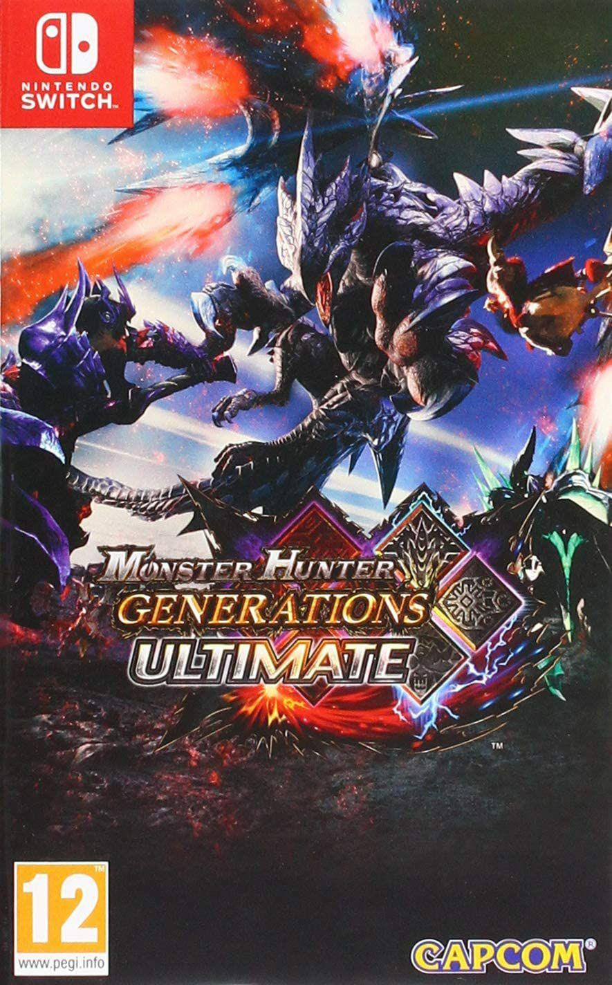 Monster Hunter Generations Ultimate Nintendo Switch £17.99 e-shop/Digitial