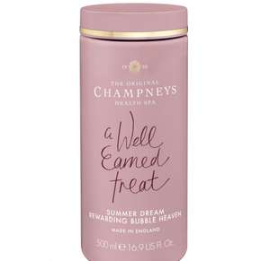 Instore Champneys Summer Dream Rewarding Bubble Heaven 500ml in 3 for 2 - £5 + £1.50 Click and Collect / £3.50 delivery @ Boots Shop
