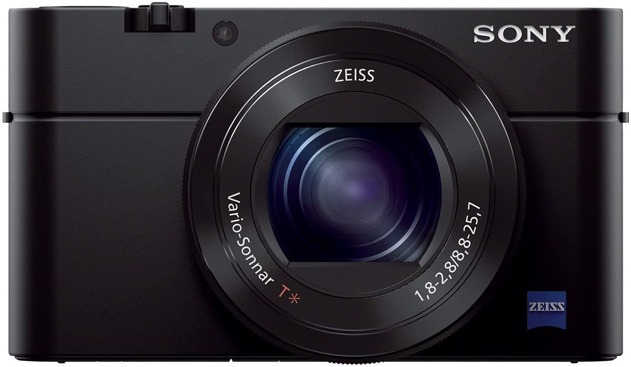 Sony RX100 III | Advanced Premium Compact Camera (1.0-Type Sensor, 24-70 mm F1.8-2.8 Zeiss Lens and Flip Screen) - £349 @ Amazon