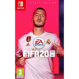 FIFA 20 Nintendo switch - £15.95 delivered @ The Game Collection