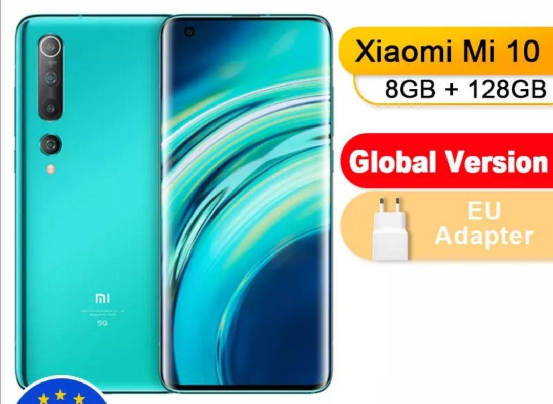 Global Version Xiaomi Mi 10 128GB 8GB Smartphone 5G - £437 / £424 Fee Free Card @ Mi Global Store /Aliexpress