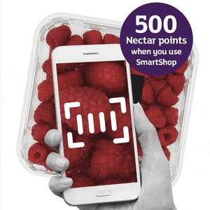 500 Nectar Points with Sainsbury's SmartShop app - free on iOS App Store