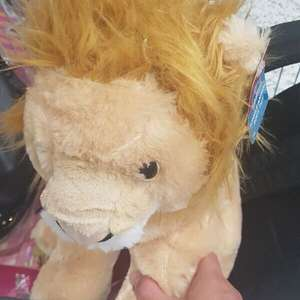 Lion Jungle Animal soft toy - £1 instore @ Asda, Hunts Cross - Liverpool