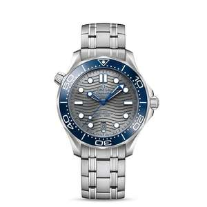 OMEGA Seamaster Diver 300 Steel Chrome Dial Bracelet Watch 21030422006001 - £3544.50 at Leonard Dews