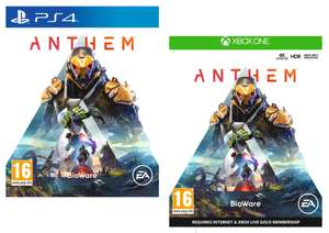 [XBOX ONE /PS4 ] Anthem - £2.97 Delivered @ Currys PC World