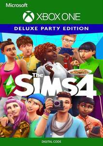 The Sims 4 Deluxe Party Edition Xbox One (US) £3.99 @ CDKeys