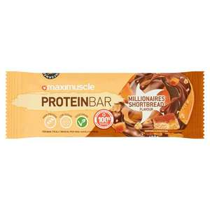 Maximuscle protein bars - Just 69p each @ Home Bargains (Hull)