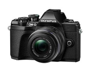 E‑M10 Mark III 1442 camera with M.ZUIKO Digital 14‑42mm F3.5‑5.6 II R lens for £371.02 delivered using code @ Olympus Shop