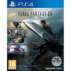 Final Fantasy XIV The Complete Collection (PS4 Game) £19.99 @ 365games.co.uk