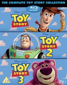 Toy Story 1-3 Blu-ray Box Set (Used) £4.49 delivered with code @ Music Magpie