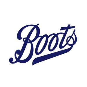 £3 off Boots online voucher (no min spend). Click and Collect free over £20 or £1.99 under.