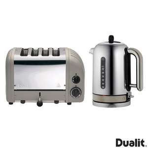 Dualit Classic Kettle & Toaster Set Shadow Grey £199.99 @ Costco