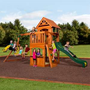 Backyard Discovery Atlantic Wooden Swing Set (3-12 Years) - £599.89 delivered @ Costco