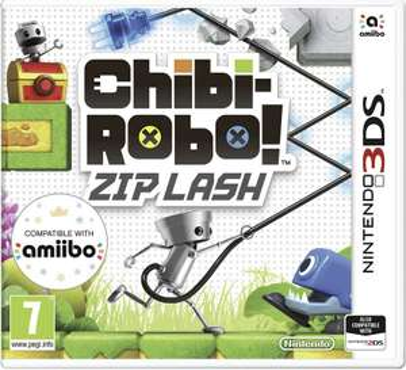 Chibi-Robo! Zip Lash Nintendo 3DS - £1.49 (Free Click and Collect) @ Argos