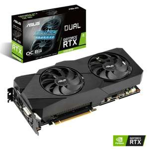 **B GRADE** ASUS GEForce RTX 2060 Super Dual EVO OC 8192MB GDDR6 PCI-Express Graphics Card - £299.99 delivered @ Overclockers