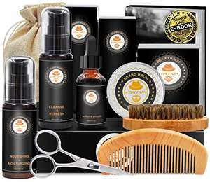 Upgraded Beard Grooming Kit - £8.62 Prime using voucher / +£4.49 non Prime Sold by YEWE and Fulfilled by Amazon
