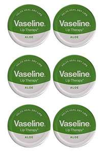 Vaseline Lip Therapy Petroleum Jelly 20g ALOE VERA x 6 Tins -£3.73 Prime(Sold By Universal-Cosmetics/Fulfilled By Amazon)(+£4.49NP) @ Amazon