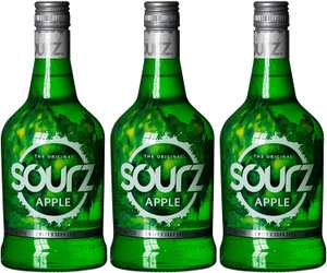 Sourz Green Apple Liqueur, 700ml (Case of 3) for £12.07 (Prime) / £16.56 (Non Prime) delivered @ Amazon