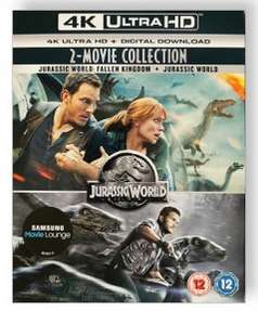 4K blu ray + digital Jurassic World Collection - £8.05 with code & free delivery @ PRC Direct