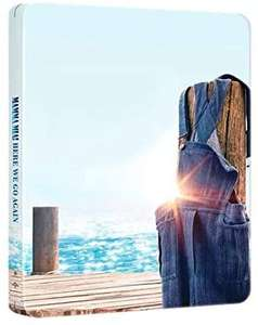 Mamma Mia! Here We Go Again (4K Ultra HD Steelbook + Blu-ray) [UHD] - £6.99 (+£2.99 NP) - Sold and Shipped by Bee-Entertained @ Amazon