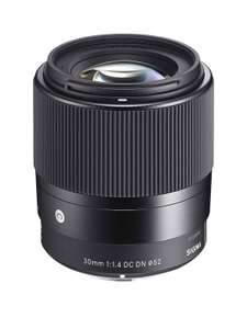Sigma 30mm f/1.4 DC DN I C (Contemporary) Prime Standard Lens - (Sony E Fit) at Very for £259.99