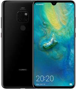 Huawei Mate 20 128 GB 6.53-Inch 2K FullView Android 9.0 SIM-Free Smartphone sold by LiveGig at Amazon