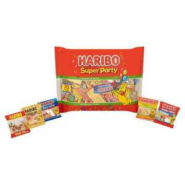Haribo super party 70 mini bags 1.12kg £5 @ Morrisons