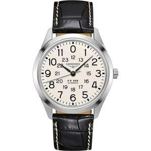Longines Heritage Railroad 40mm Automatic Stainless Steel Strap Watch £905 @ Leonard Dews