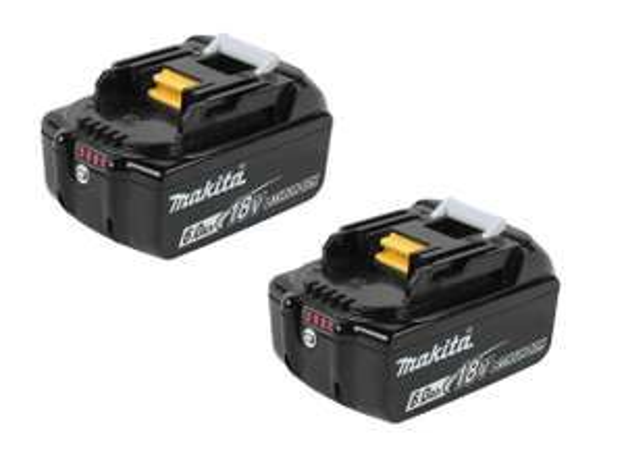 Makita BL1860BX2 18v 6Ah LXT Li-ion Genuine Makstar Battery 2 Pack at FFX for £129