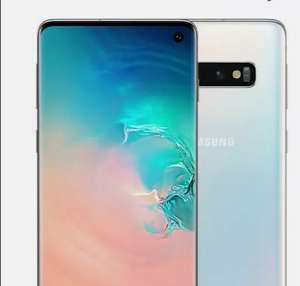 Samsung Galaxy S10 Good Refurbished Condition White O2 128GB Smartphone - £282.14 With Code @ Music Magpie Ebay