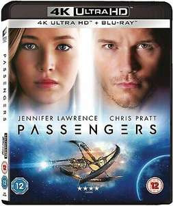 Passengers (4K Ultra HD + Blu-ray), £9.99 at zoom/ebay