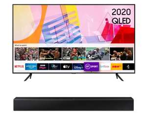 Samsung QE85Q60T 85 inch 4K Ultra HDR Smart QLED TV + FREE Samsung HWT400 Soundbar - £2299 Delivered @ Richer Sounds