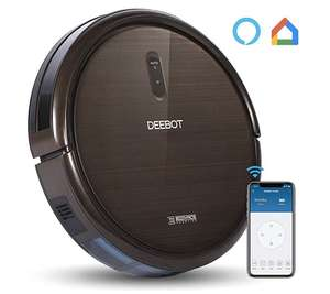 BOGOF - Ecovacs N79S Robot Vacuum, Hi-Suction, Self-Charge, Drop Snsr, Alexa+Google, HardFloor, LowPile Carpet,Pet Hair - £131.26 @ Gearbest
